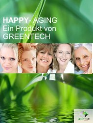 HAPPY- AGING Ein Produkt von GREENTECH - Health and Beauty ...