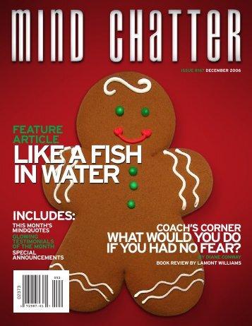 Mind Chatter #167 (December, 2006) (PDF) - Centerpointe ...