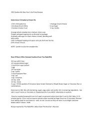 2013 Seekerville New Year's Eve Party Recipes Helen Gray's ...