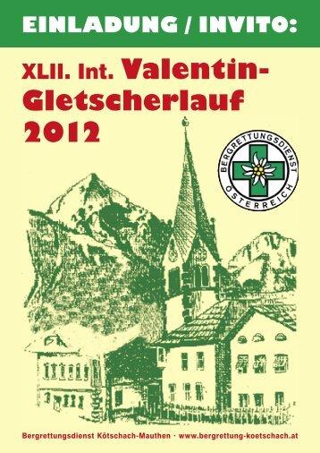 Gletscherlauf 2012 - Bergrettung Kötschach