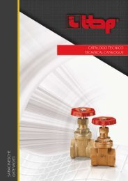catalogo tecnico technical catalogue sara cinesche g ate valves