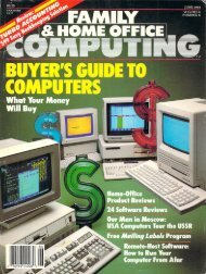 June 1988 - Family Computing and K-Power Magazine Archives