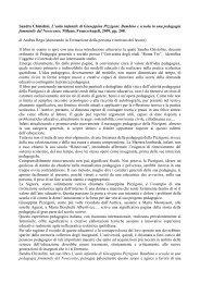 Sandra Chistolini, L'asilo infantile di Giuseppina Pizzigoni. Bambino ...