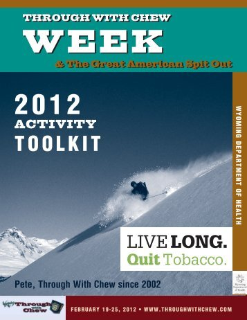 Through with Chew Week Toolkit (pdf)