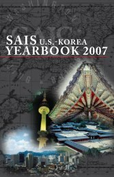 YeArBooK 2007 - US-Korea Institute at SAIS