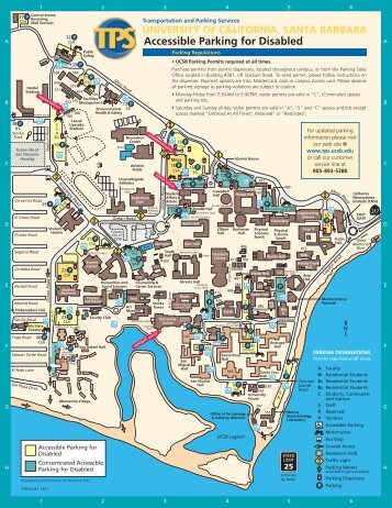Accessible Parking Map - Disability Resources - University of ...