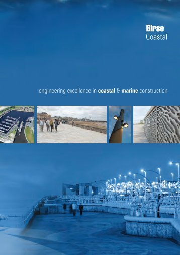 Coastal brochure - Birse Civils Ltd