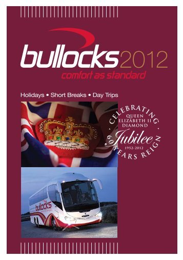 Holidays from - Bullocks Coaches
