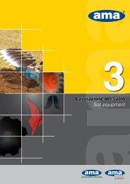 3 - Lavorazione del suolo - Soil equipment - AMA USA, Inc.