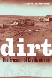 Dirt: The Erosion of Civilizations - Kootenay Local Agricultural Society