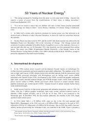 50 Years of Nuclear Energy - IAEA