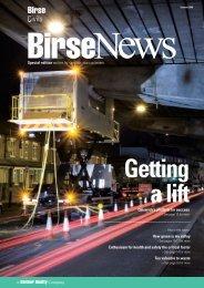 Bire news winter 2007 - Birse Civils Ltd