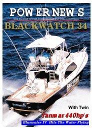 blackwatch 34 power news - Yanmar