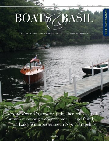 BOATS&BASIL - Indian River Magazine