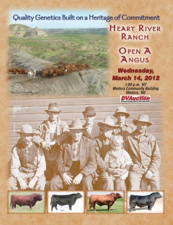 Heart River Ranch & Open A Angus - Cow Camp Promotions