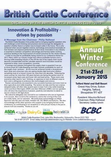 British cattle breeders club