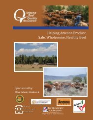 Updated Arizona Beef Quality Assurance Manual - Department of ...