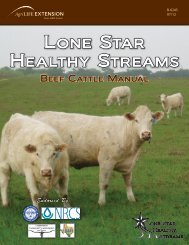 Lone Star Healthy Streams: Beef Cattle Manual - Forages - Texas ...