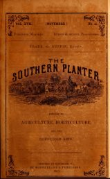 Southern planter - The W&M Digital Archive