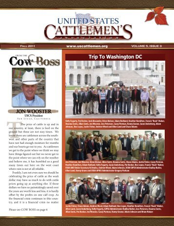 Fall 2011 - United States Cattlemen's Association