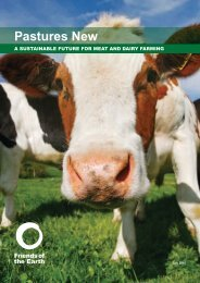 Pastures new - a sustainable future for meat and dairy farming