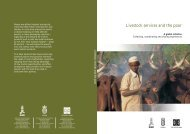 Livestock Services and the Poor: A global initiative - IFAD