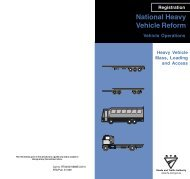 Heavy Vehicle Mass, Loading and Access National Heavy ... - RTA