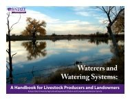 S147 Waterers and Watering Systems: A Handbook for Livestock ...
