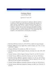 Girolamo Muzio - Nuovo Rinascimento