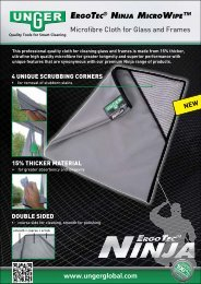 Microfibre Cloth for Glass and Frames - Unger