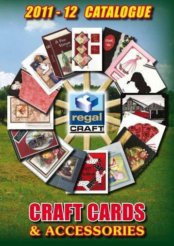 2011 - 12 CATALOGUE - Regal Craft Cards