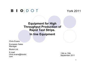 Rapid Lateral Flow Test Strips Millipore - Biodot Net Developer Cover Letter