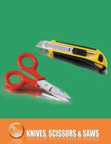 Knives, Scissors and Saws