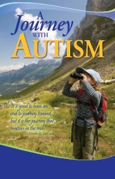 A Journey with Autism - CARD USF - University of South Florida