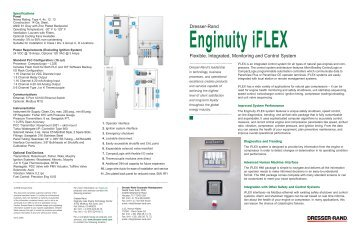 Iflex Flexible Integrated Monitoring And Control Dresser Rand