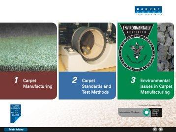 Carpet Manufacturing Carpet Standards and Test Methods ...