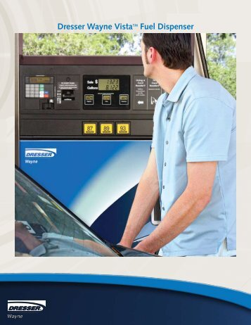 Dresser Wayne Vista Fuel Dispenser