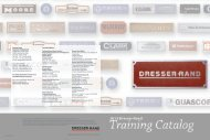 2013 Product Training Schedule PDF - Dresser-Rand