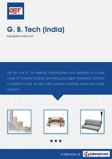 Download PDF - GB Tech (India)