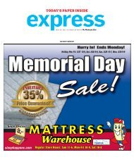 Hurry In! Ends Monday! - Express