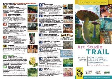 Art Studio TRAIL - Southern Highlands