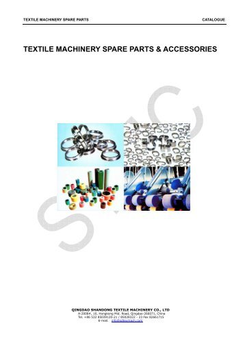 textile machinery spare parts & accessories - Qingdao Shandong ...
