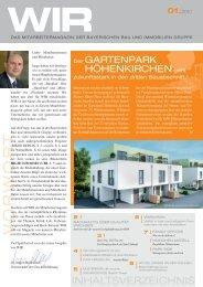 Mitarbeitermagazin Bayerische Bau und Immobilien Gruppe