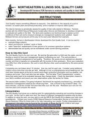 Soil Quality Information Sheet - NRCS Soils - US Department of