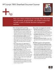 HP Scanjet 7800 Sheet-feed Document Scanner