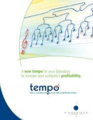 TEMPO ® Brochure - bioMerieux