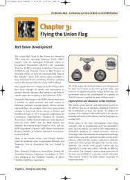 Chapter 3: - Rail, Tram and Bus Union of NSW