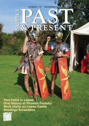 December 2008 (issue 116) - Sussex Archaeological Society