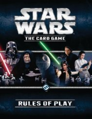 Star Wars: The Card Game Core Rules - Fantasy Flight Games