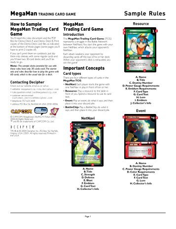 Pokémon Trading Card Game Rules - Pokemon.Com
